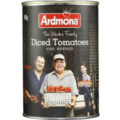 Ardmona Tomatoes Chopped No Added Salt 400g