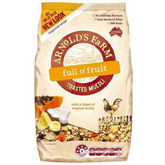 Arnolds Farm Full O Fruit Toasted Muesli  1kg