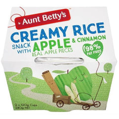 Aunt Betty's Creamy Rice Dessert Apple & Cinnamon  240g