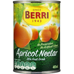 Berri Canned Apricot Nectar With 35% Juice  405ml