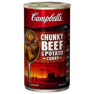 Campbell's Canned Soup - Beef & Potato Curry