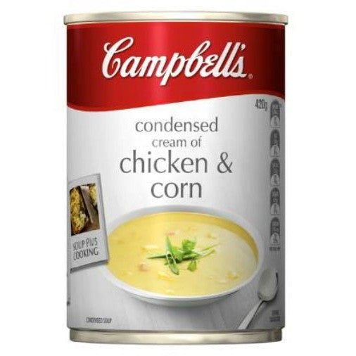 Campbell's Canned Soup - Cream Of Chicken & Corn