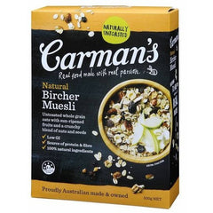 Carman's Natural Bircher Muesli 500g