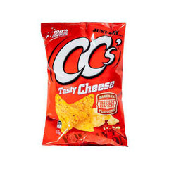 Cc's Corn Chips Tasty Cheese  175g