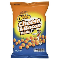 Cheetos Share Pack Cheese & Bacon Balls  135g