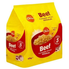 Choice Beef Instant Noodles  5x85g pack