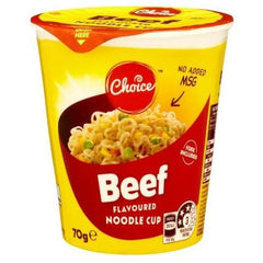 Choice Beef Noodle Cup  70g