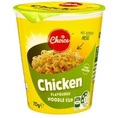 Choice Chicken Noodle Cup  70g