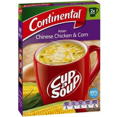 Continental Cup a Soup - Asian Chicken & Sweetcorn 2pk