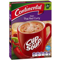 Continental Cup a Soup -  Asian Thai Red Curry 2pk