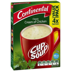 Continental Cup a Soup - Cream Of Chicken 2pk
