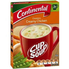 Continental Cup a Soup -  Croutons Creamy Chicken 2pk