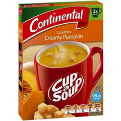 Continental Cup a Soup - Croutons Creamy Pumpkin 2pk