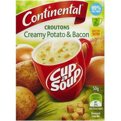 Continental Cup a Soup - Croutons Potato & Bacon 2pk