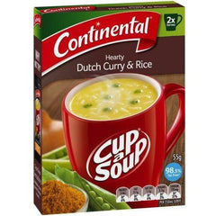 Continental Cup a Soup - Dutch Curry & Rice 2pk