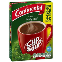 Continental Cup a Soup - Hearty Beef  4pk