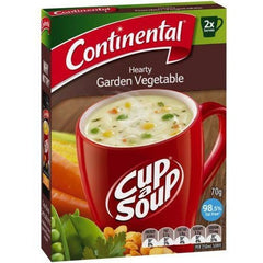 Continental Cup a Soup -  Hearty Garden Vegetable 2pk
