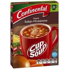Continental Cup a Soup - Hearty Italian Minestrone 2pk