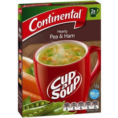 Continental Cup a Soup -  Hearty Pea & Ham 2pk