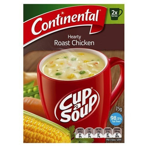 Continental Cup a Soup - Hearty Roast Chicken 2pk