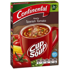 Continental Cup a Soup - Hearty Spanish Tomato 2pk