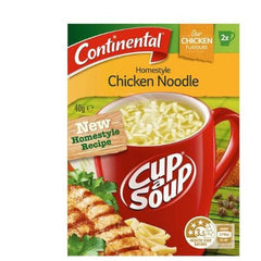 Continental Cup a Soup - Homestyle Chicken Noodle 2pk