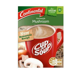 Continental Cup a Soup - Homestyle Mushroom 2pk