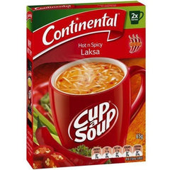 Continental Cup a Soup - Hot And Spicy Laksa 2pk