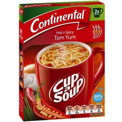 Continental Cup a Soup -  Hot And Spicy Tom Yum 2pk