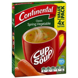 Continental Cup a Soup - Spring Vegetable 4pk