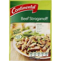 Continental Recipe Base Beef Stroganoff  40g