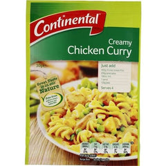 Continental Recipe Base Creamy Chicken Curry  30g