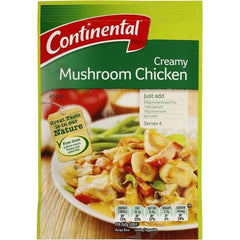 Continental Recipe Base Creamy Mushroom Chicken  45g