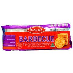 Damora Barbecue Flavoured Rice Crackers 100g