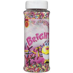 Dollar Sweets Bright Sprinkles Jar  90g