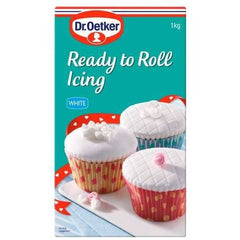 Dr Oetker Ready To Roll Icing White  1kg