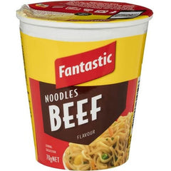 Fantastic Beef Noodle Cup  70g