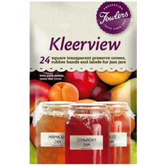 Fowlers Kleerview Preserve Covers 24pk