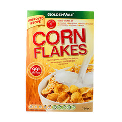 Goldenvale Corn Flakes Twin Pack 750g