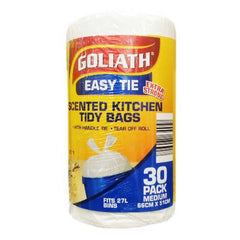 Goliath Scented Kitchen Tidy Bags 30pack Medium