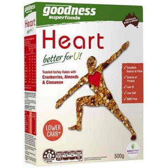 Goodness Superfoods Heart Cereal  500g