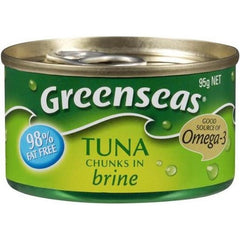 Greenseas Tuna Chunks In Brine  95g