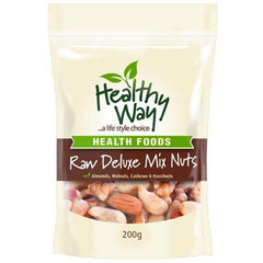 Healthy Way Raw Deluxe Mix Nuts 200g