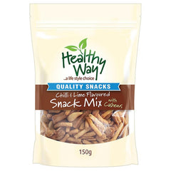 Healthy Way Soy Crisp Mix With Cashews 150g
