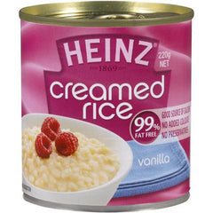 Heinz Fat Free Vanilla Creamed Rice 220g
