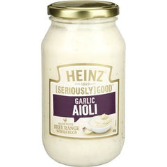 Heinz Seriously Good Aioli Garlic Mayonnaise