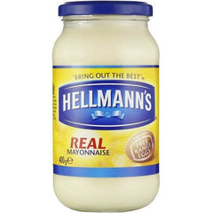 Hellmans Ingredients Real Mayonnaise  400g