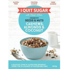 I Quit Sugar Seeds & Nuts Cashews Almonds & Coconut 400g