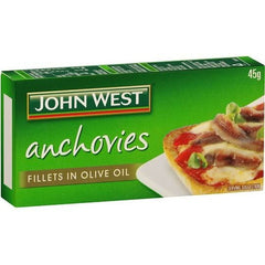 John West Anchovies  45g