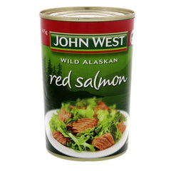 John West Salmon Red 415g